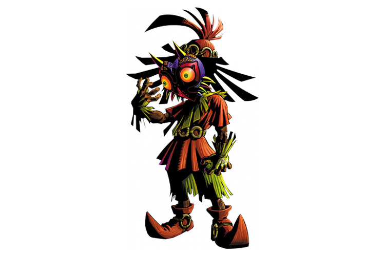Skull Kid from Legend of Zelda