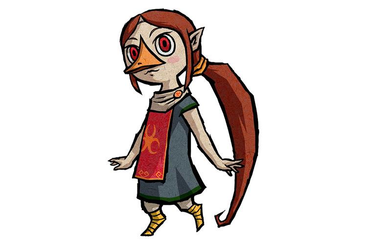 Medli Legend of Zelda character