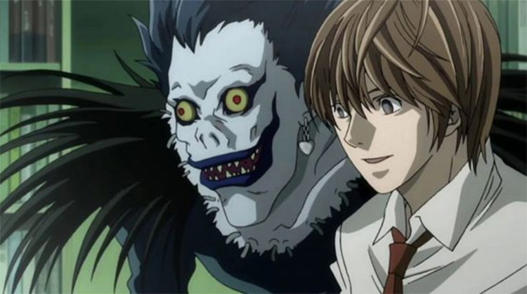 Death Note anime by Studio Madhouse