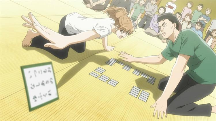 Chihayafuru Studio Madhouse anime screenshot