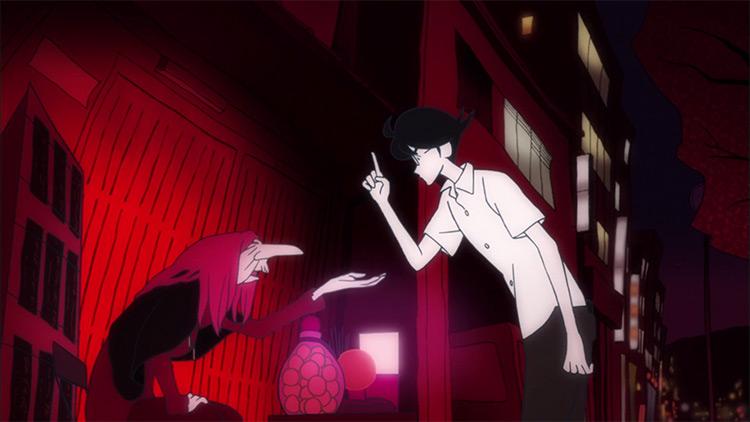 The Tatami Galaxy Studio Madhouse anime