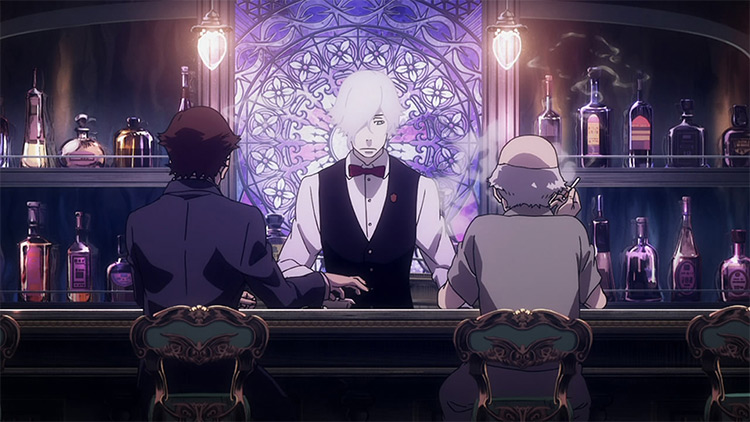 Death Parade anime by Studio Madhouse