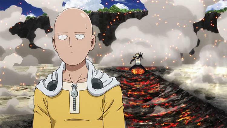 One Punch Man anime by Studio Madhouse