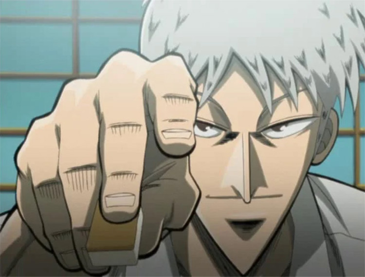 Mahjong Legend Akagi anime by Studio Madhouse