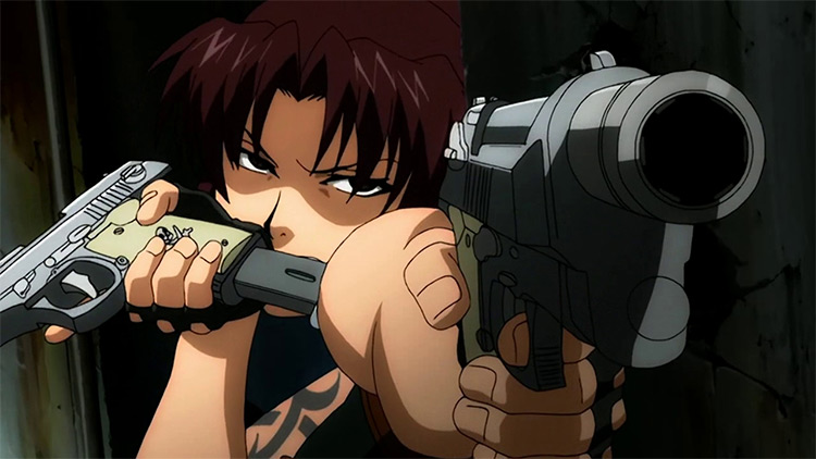 Black Lagoon anime by Studio Madhouse