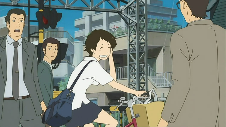 The Girl Who Leapt Through Time Studio Madhouse anime