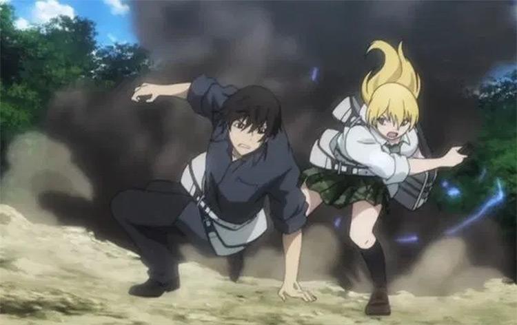 Btooom! anime by Studio Madhouse