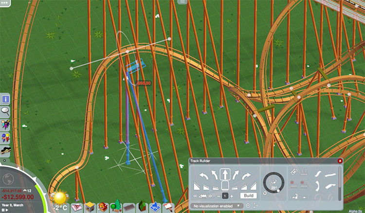 Track Edit Parkitect Mod