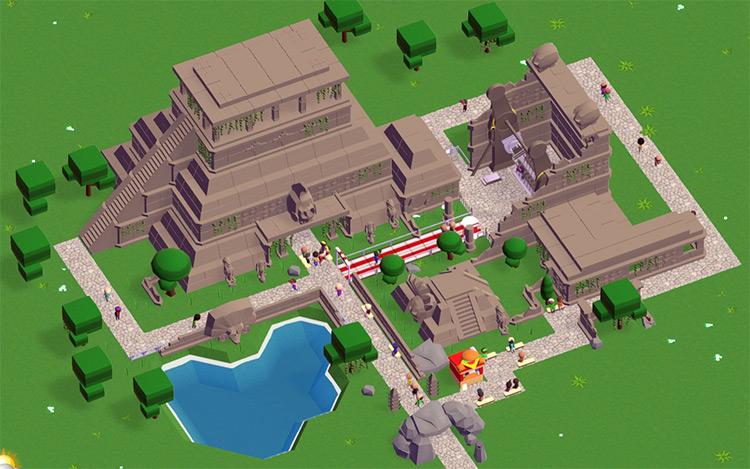 Maya Parkitect Mod screenshot
