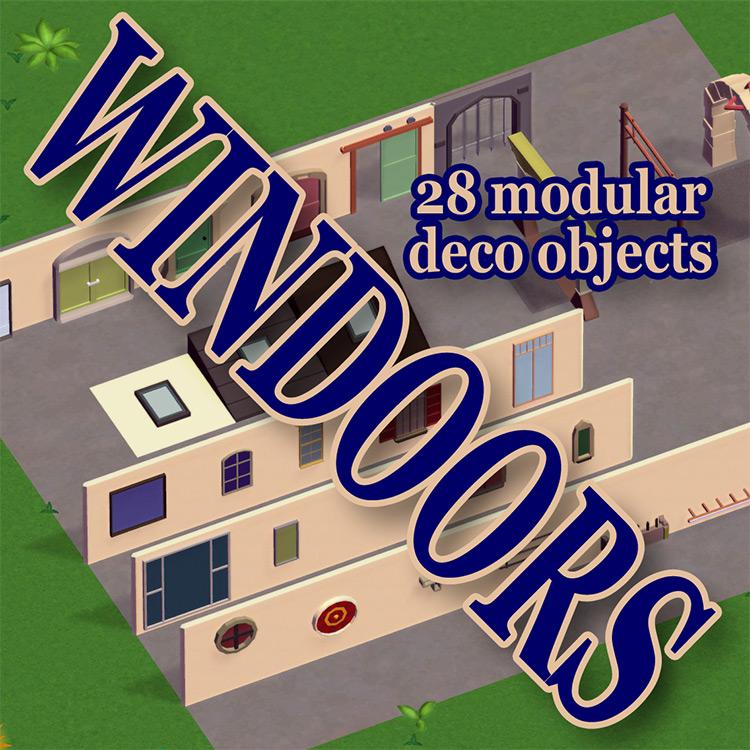 Windoors Parkitect Mod