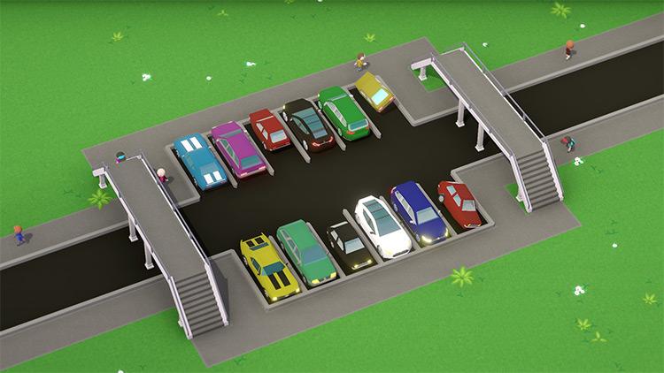 Cars Pack Parkitect Mod screenshot