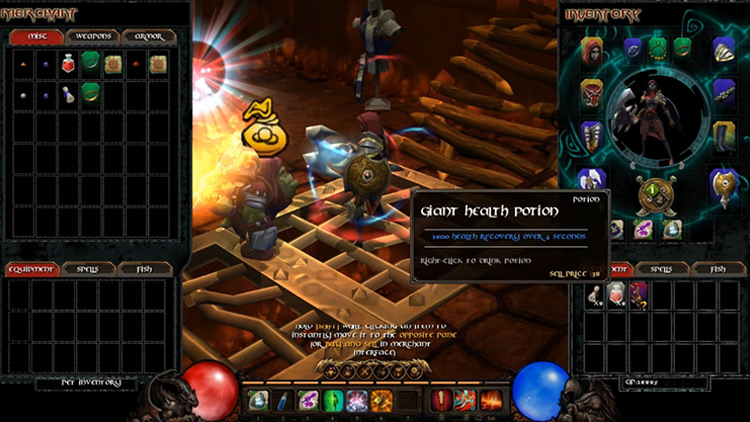 Potion Deluxe Mod for Torchlight 1