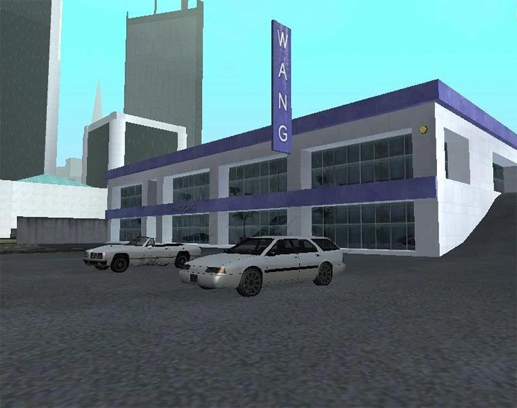 Wang Cars in GTA SA