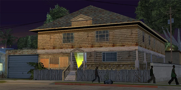 The Johnson House in GTA San Andreas