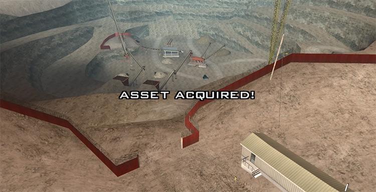 GTA SA property Hunter Quarry