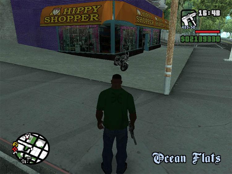 GTA San Andreas Hippy Shopper