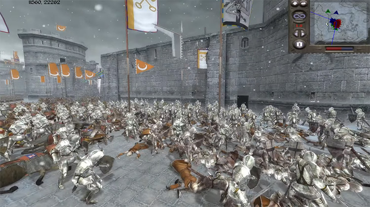 Attack Only if You Have a 2-Garrison Advantage Medieval II: Total War