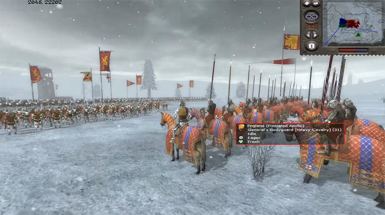 Take Care of Your General in Medieval II: Total War