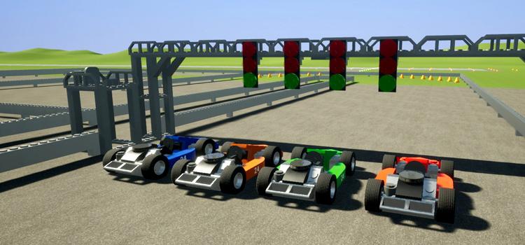 Go Kart Brick Rigs Modded