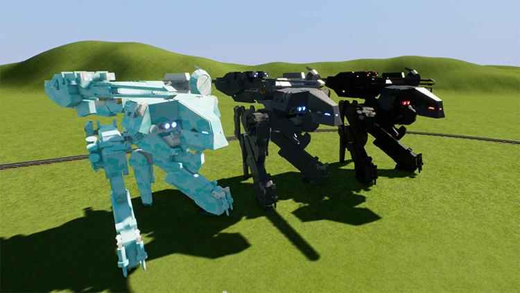 Metal Gear Rex Mod for Brick Rigs