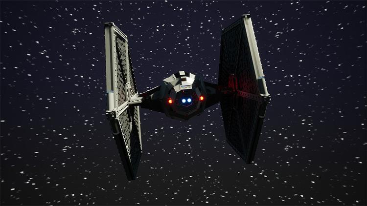 TT Star Wars TIE Fighter Mod for Brick Rigs