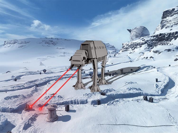 Scrumptious Star Wars AT-AT Brick Rigs Mod