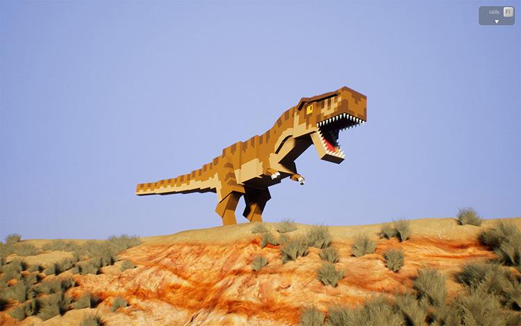 Tyrannosaurus Rex Brick Rigs Mod