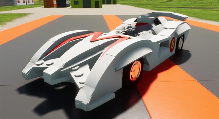 Mach 6 Speed Racer Car - Brick Rigs Mod