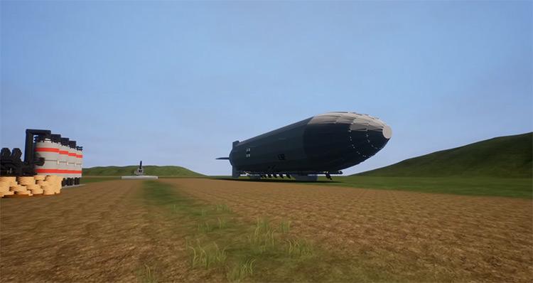 LZ 129 Hindenburg Brick Rigs Mod