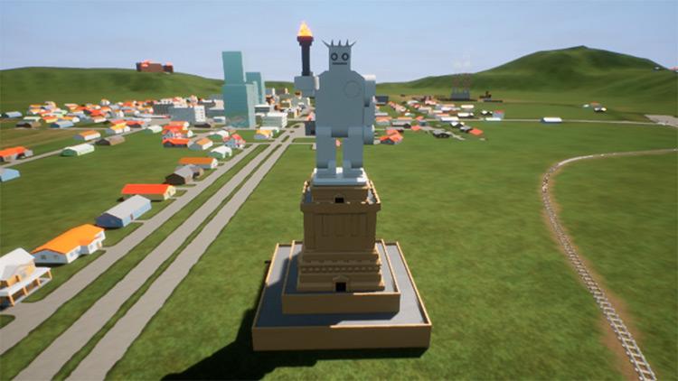 The Statue of Boberty Brick Rigs Mod