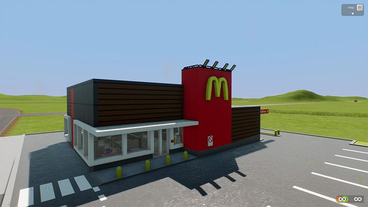 McDonalds Mod for Brick Rigs