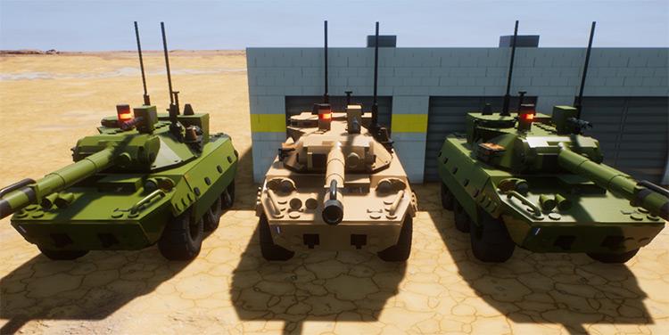 AMX-10 RC Brick Rigs Mod screenshot