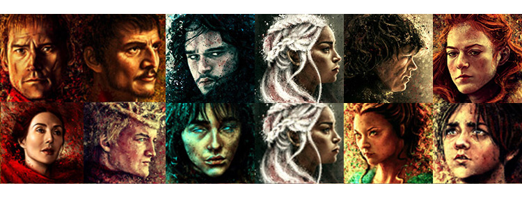 Game of Thrones Portraits Mod for Legend of Grimrock II