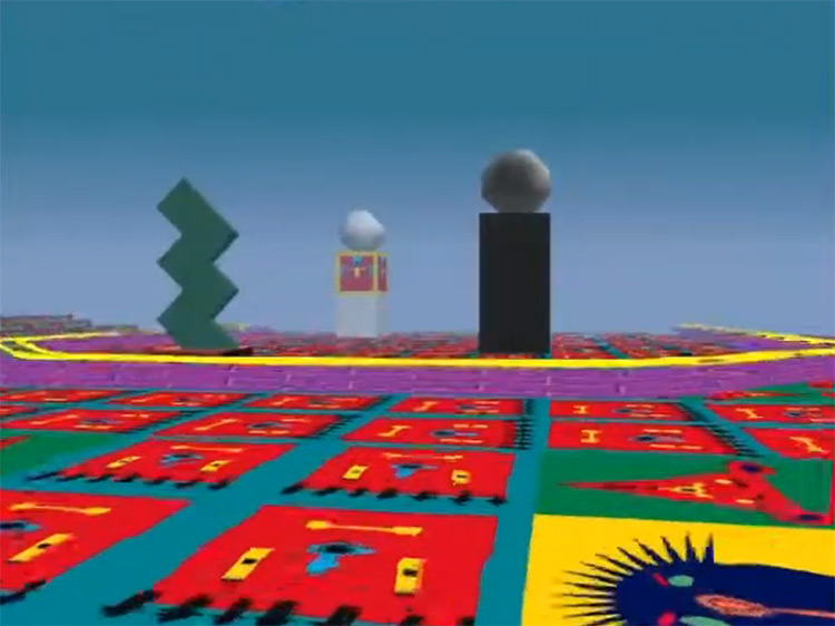 LSD: Dream Emulator in PS1