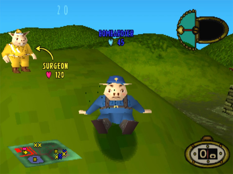 Hogs of War in PS1