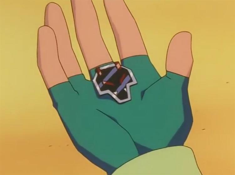 Rising Badge from Pokémon anime