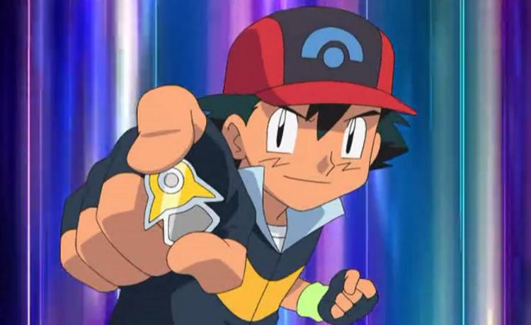 Beacon Badge from Pokémon anime