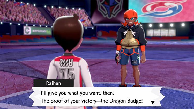 Dragon Badge from Pokémon Sword