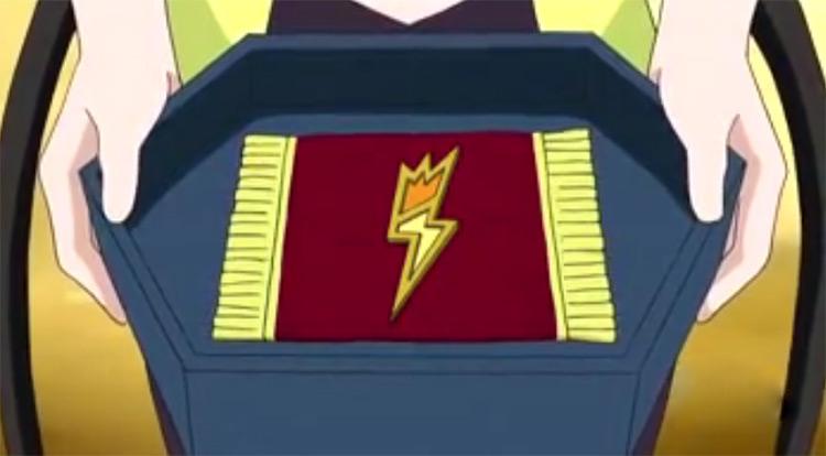 Bolt Badge from Pokémon anime