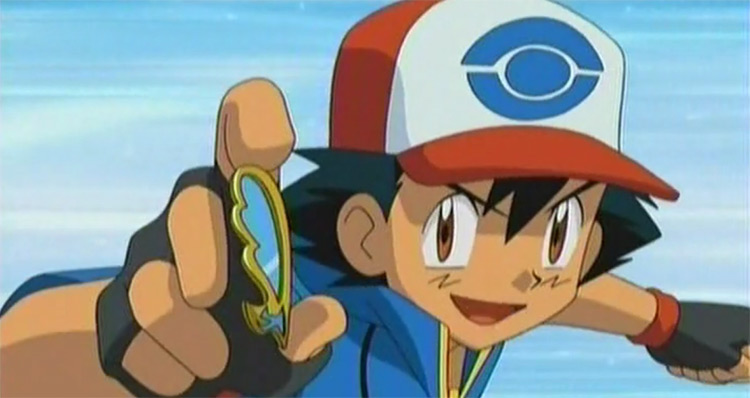 Jet Badge from Pokémon anime