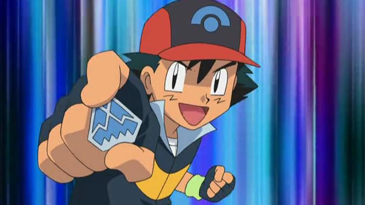 Icicle Badge Pokémon anime screenshot