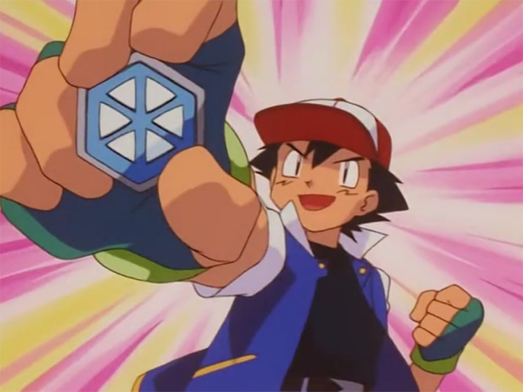 Glacier Badge from Pokémon anime