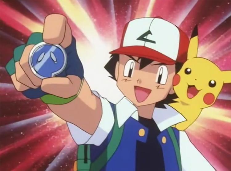 Fog Badge Pokémon anime