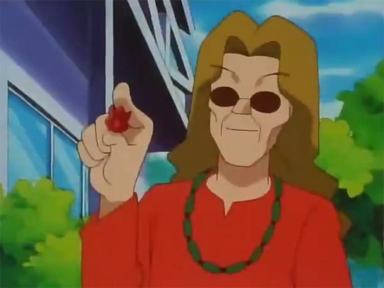 Volcano Badge from Pokémon anime