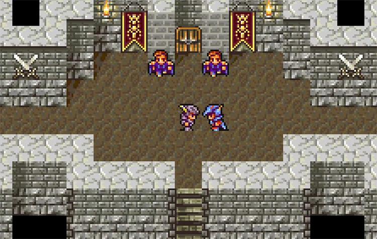 Final Fantasy Remakes WonderSwan game screenshot