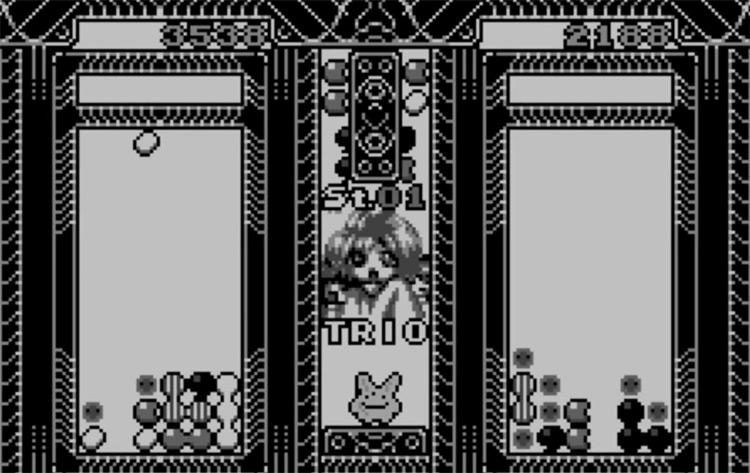 Puyo Puyo 2 WonderSwan gameplay