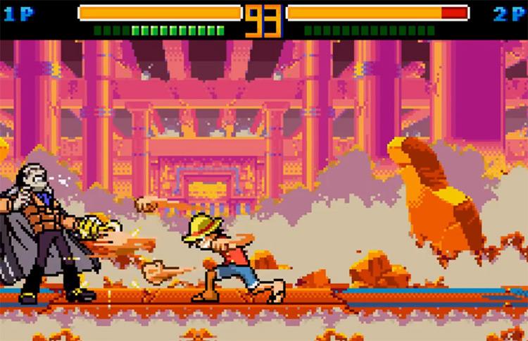 One Piece: Grand Battle Swan Colosseum in WonderSwan