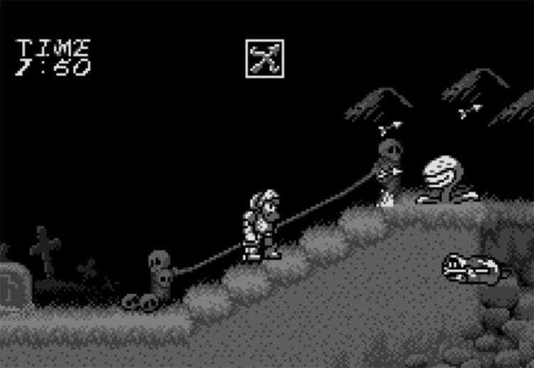 Makaimura for WonderSwan gameplay