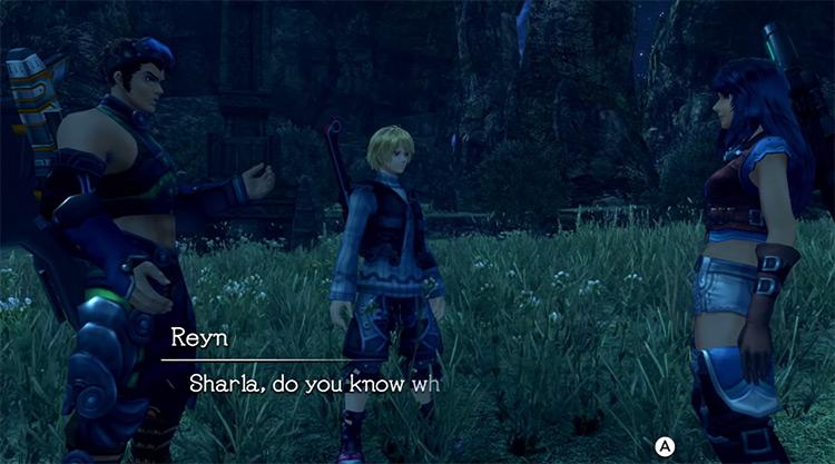 Xenoblade Chronicles Nintendo Wii gameplay
