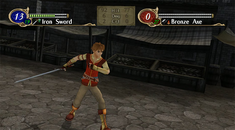 Fire Emblem: Radiant Dawn Wii game screenshot